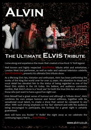Elvis at Three Locks Golf Club